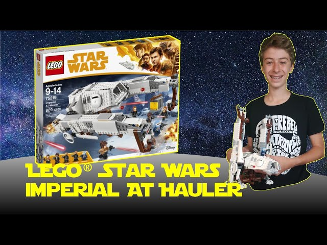 Lego Star Wars Imperial AT Hauler 75219 MOC Lenz Wars