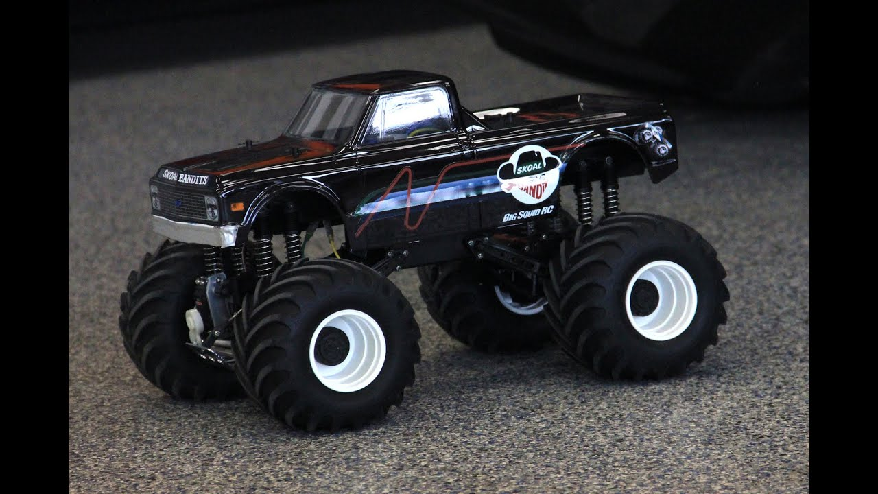 Retro R C Monster Truck Highlights From Bigfoot Winter Event 3 Youtube