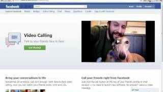 New Facebook Feature - Video Chat in Facebook  (Using Skype)