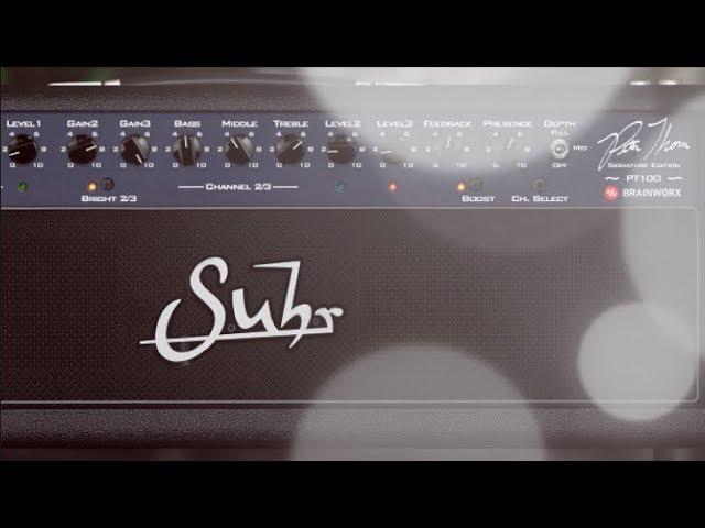 UAD-2 Guitar Tones #24 - v9.6 Suhr PT100 Guitar Amp Plugin by Brainworx