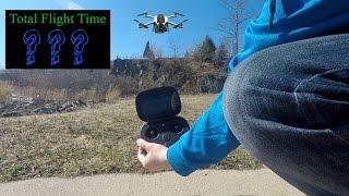 GoPro Karma - Hover Test & Battery Life (Flight Time)