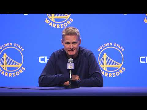 Steve Kerr's first comments following President Trump's criticism (full ...