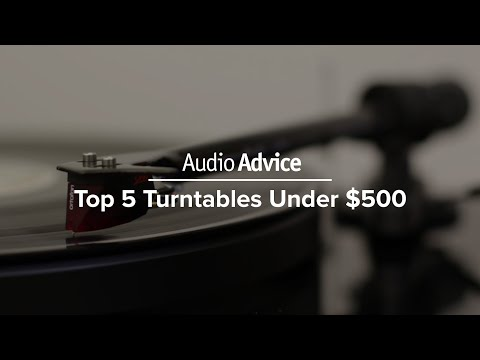 Top 5 Turntables Under $500