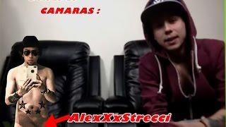Como Graba Un VIDEO AlexXxStrecci | DETRAS DE CAMARAS | YouNow