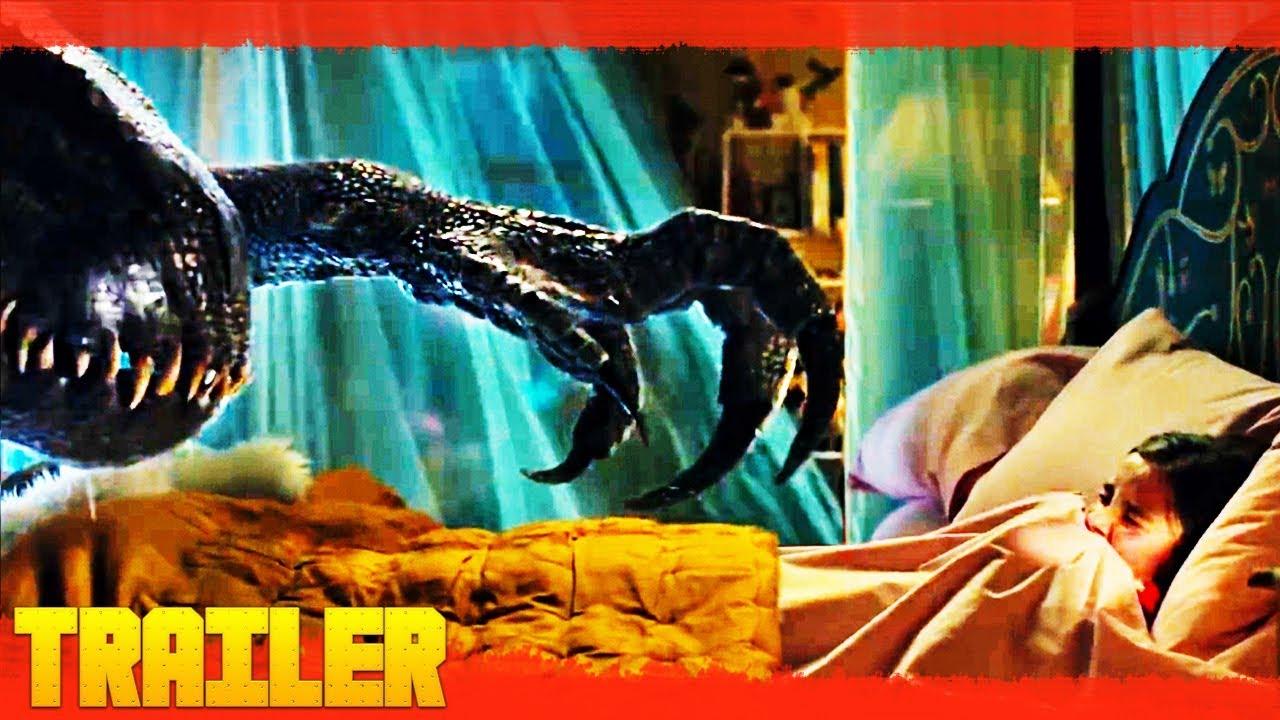 Jurassic World 2 El Reino Caído 2018 Nuevo Tráiler Oficial 2 Español Youtube