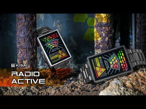 Tokyoflash Kisai Radio Active Watch (Video)