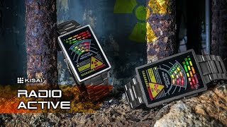 Unique Watches: Kisai Radioactive LED Watch from Tokyoflash Japan