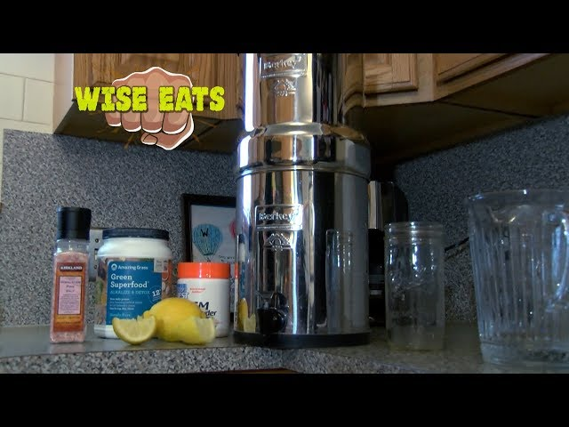 Wise Eats - Always Workin' Water – The best drinking water for your health