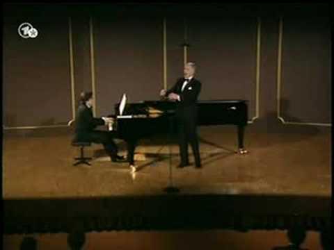 Fischer-Dieskau - Schumann Recital '88 Part 3 - Belsazar, Etc