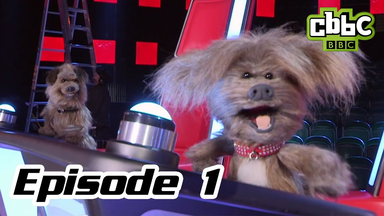 The Voice Uk Hacker And Dodge Barkstage Cbbc Meet The