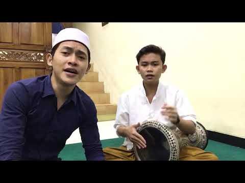 Sholawat Nada Oii Adek Be Jilbab Biru Cover Darbuka Ft Imam Haikal