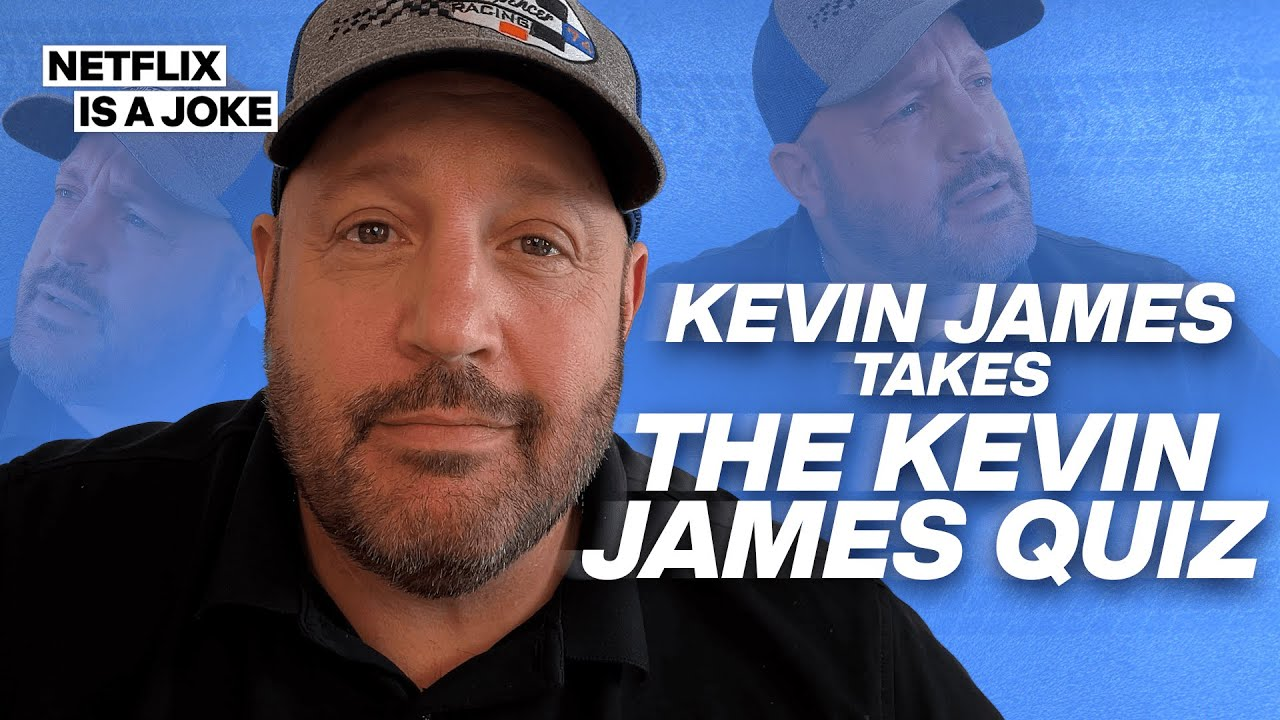 Kevin James Takes the Kevin James Quiz