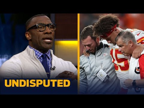 Reid is to blame for getting Mahomes hurt with 'dumb coaching move'  Shannon | NFL | UNDISPUTED