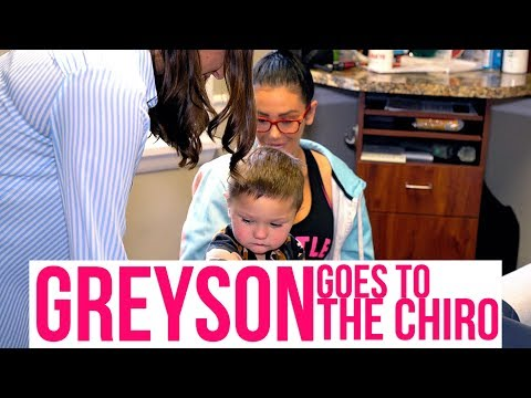 JWOWW BRINGS GREYSON TO THE CHIROPRACTOR!