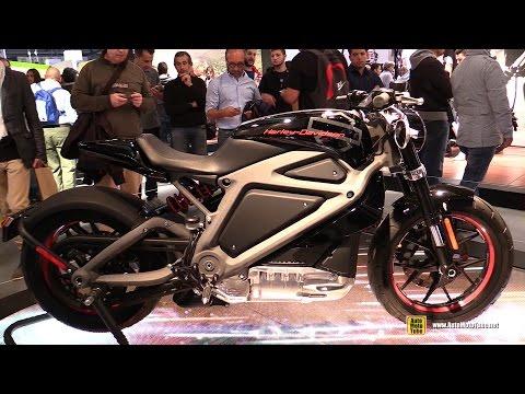 2016 Harley-Davidson LiveWire Electric Bike - Walkaround - 2014 EICMA Milan Motorcycle Exhibition