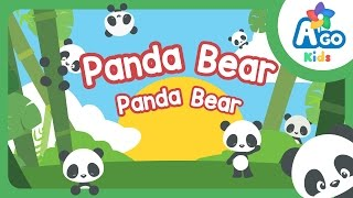 panda bear panda bear action verb bedtime song bingobongo learning