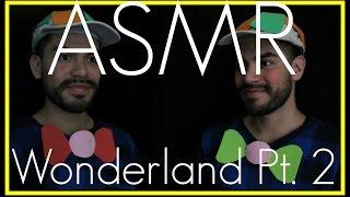 3D ASMR - Alice In Wonderland Part 2 | Tweedledee & Tweedledum (Inaudible, Ear to Ear Male Whisper)