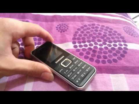 7 gün pil ömrüne sahip samsung e-1180 cep telefonu