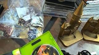 Sega Genesis Video Games CDs. Flea Market Garage Yard Estate Sale Finds Pick-Ups - 11/12/12