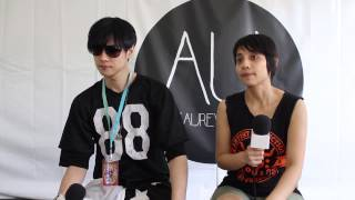 Interview: Dir En Grey - Toshiya at Soundwave Festival 2014 (Sydney, in English)
