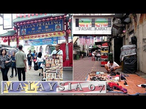 Chinatown Kuala Lumpur : Petaling Street - Pasar Karat | Travel in Malaysia 2017