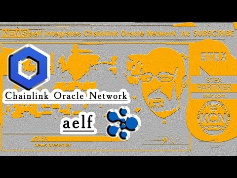 KCN #aelf integrates #Chainlink Oracle Network - YouTube