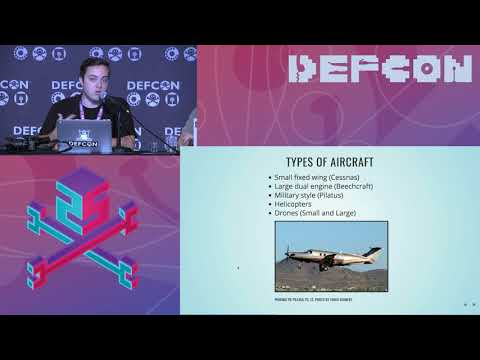 DEF CON 25 - Jason Hernandez, Sam Richards, Jerod MacDonald-Evoy - Tracking Spies in the Skies