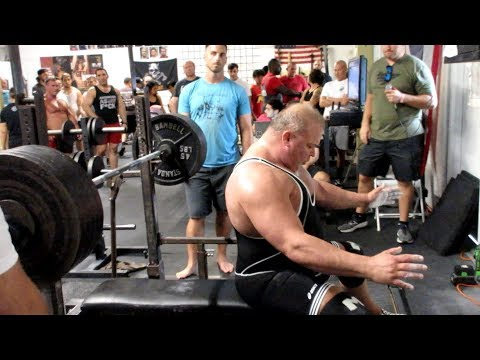 Jay Masters competes at Boynton Barbell Center Part 2