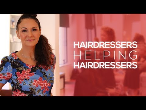 Hairdressers Helping Hairdressers