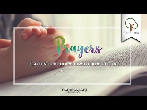 PODCAST: Faith and Family - Pint-Sized Prayers