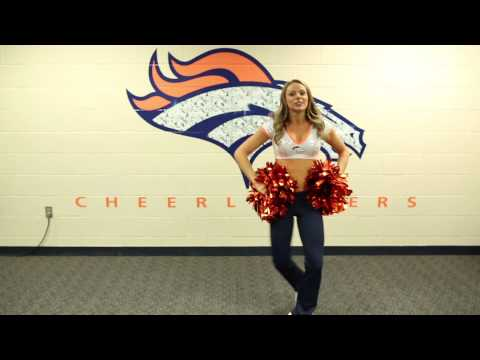 Broncos Cheerleaders Victory Dance