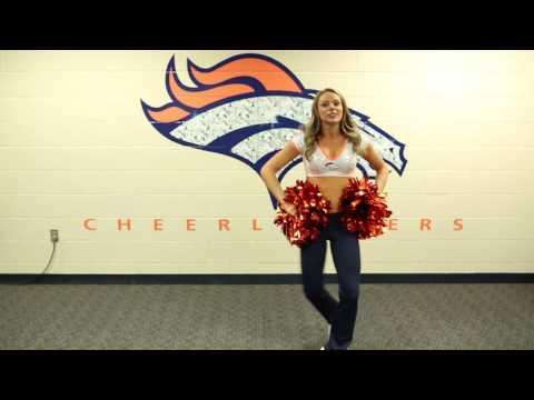 Broncos Cheerleaders Victory Dance