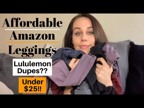 Affordable HIGH QUALITY Amazon Leggings (LuluLemon Dupes??)