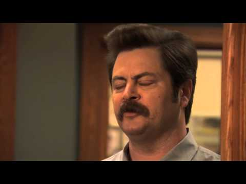 Ron Swanson: If you don't believe in love, what's the point of living?