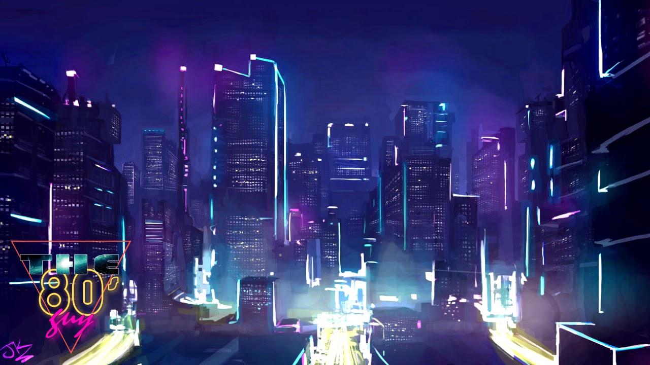 Purple Anime Aesthetic Wallpaper