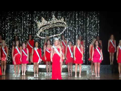 Miss Magnolia State Pageant  2014 opening number
