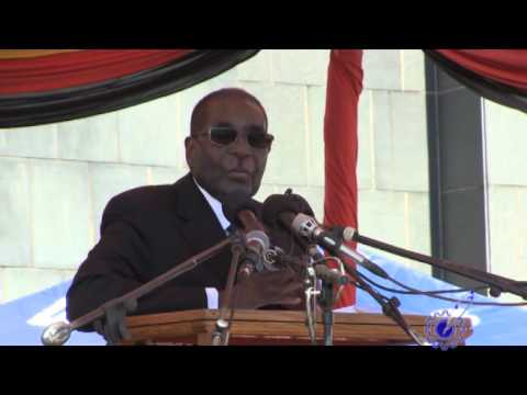 President Mugabe's speech at the burial of Cdes Victoria Chitepo and Vivian Mwashita.