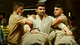 काजल पर खरोच आने पर देखिये बेल्लमकोंडा श्रीनिवास ने पुलिसवालो का क्या हाल किया | ज़बरदस्त एक्शन सीन