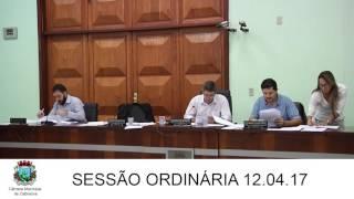 Sessão da Câmara 12.04.17