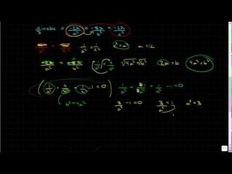 Minimum and Maximum Values Using Lagrange Multipliers