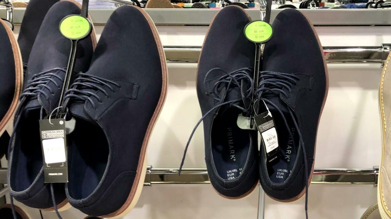 PRIMARK Men's Footwear Plus Prices