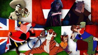 Disney Villains singing in their Native Languages