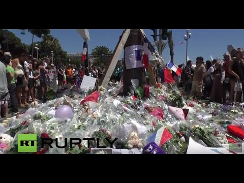 LIVE from the reopening of Promenade des Anglais in Nice after deadly attack
