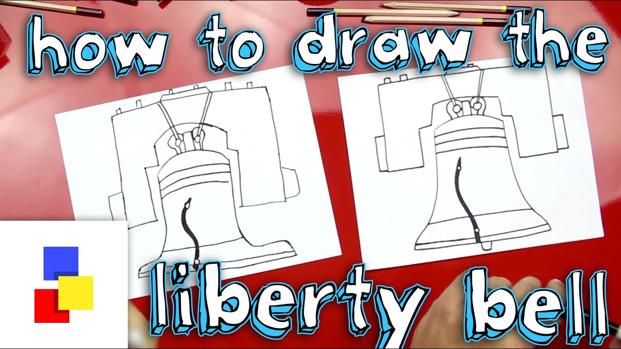 How to draw the liberty bell youtube how to draw the liberty bell biocorpaavc Images