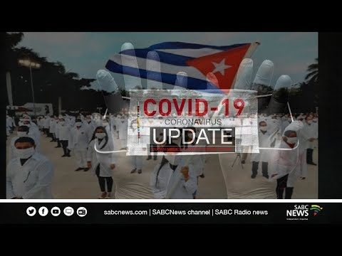 Cuban medical team arrives in South Africa: 26 April 2020