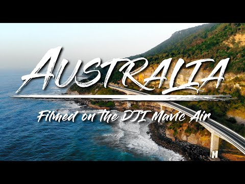 DJI Mavic Air Cinematic 4k Sample Video Footage Quality Test (Aerial Shots of Australia)