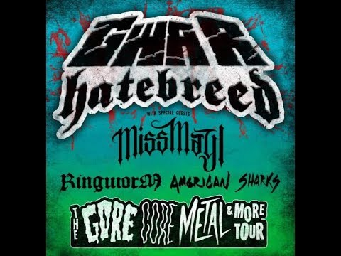 GWAR and HATEBREED headline tour unveiled w/ Miss May I, Ringworm, American Sharks!