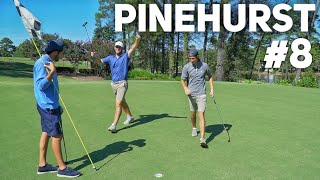 2 Man Scramble Golf Battle at Pinehurst #8 / Видео
