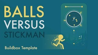 Balls vs Stickman: Buildbox Game Template