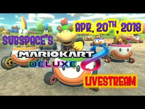 Playing Mario Kart 8 Deluxe with Subscribers- Anybody can join, Subspaceking's Livestream